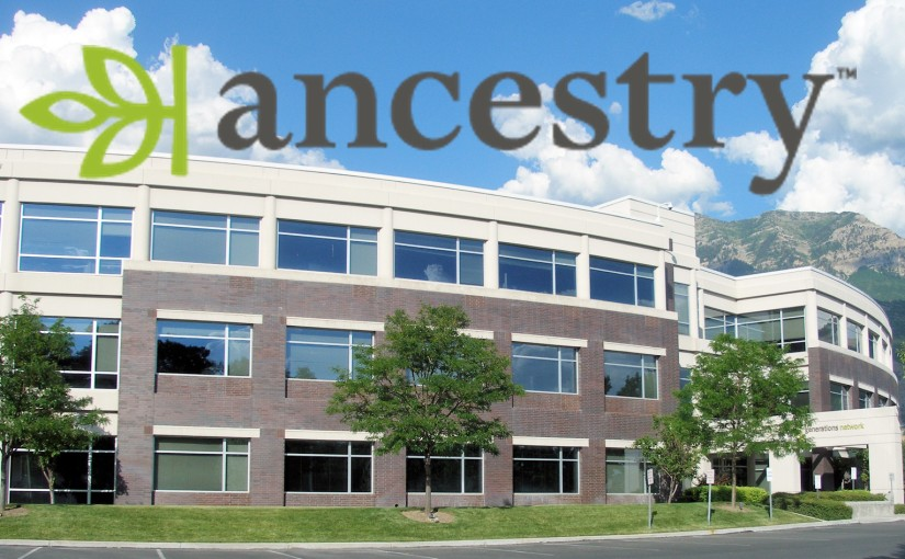 First week at Ancestry